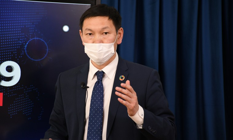 Л.Баттөр: Япон, Солонгос руу дээж явуулж мутацид орсон вирус мөн эсэхийг судлуулж байна
